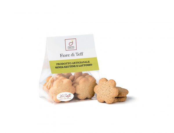 Fiore di Teff biscotti senza lattosio