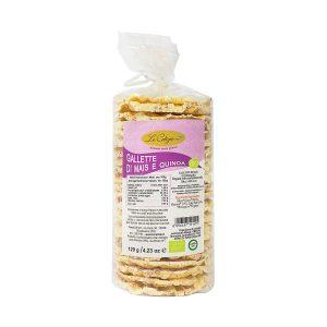 Gallette mais e quinoa BIO