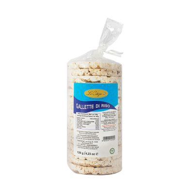 Gallette di riso senza lattosio