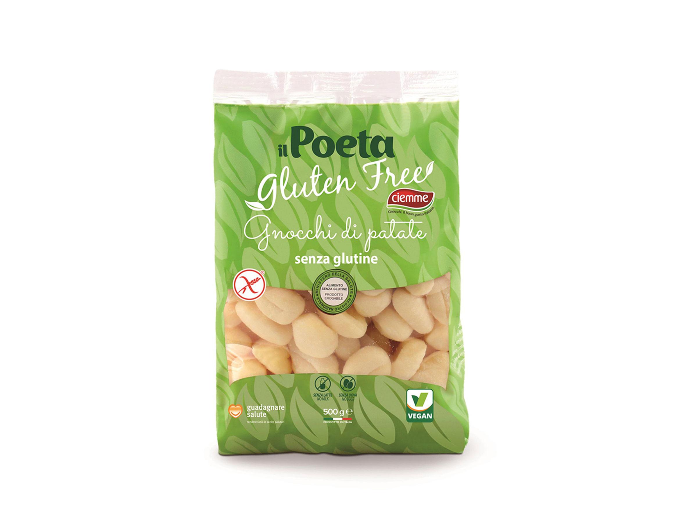 gnocchi di patate gluten free