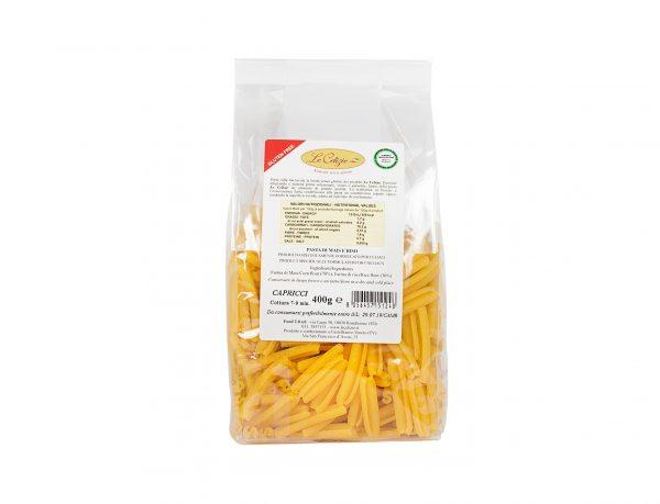 Capricci pasta di mais e riso senza lattosio