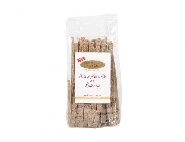 Pasta di Mais e Riso con Radicchio senza glutine