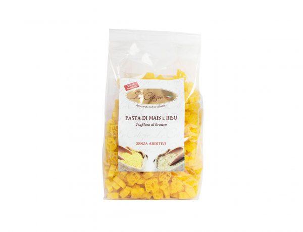 Figurine pasta di mais e riso senza glutine