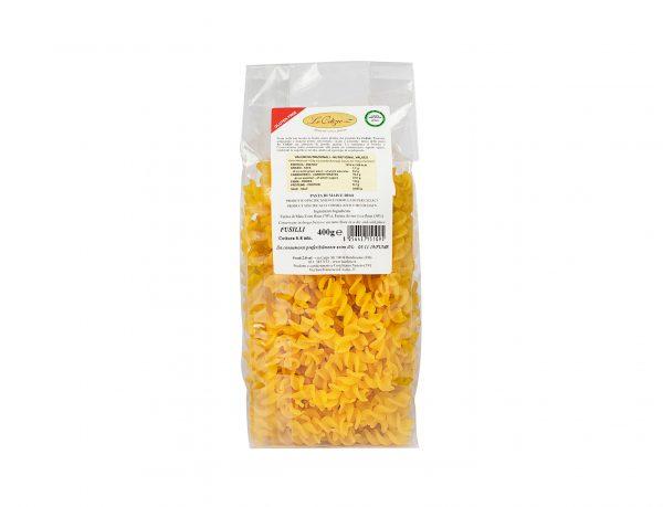 Fusilli pasta di mais e riso senza lattosio