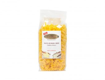 Fusilli pasta di mais e riso senza glutine