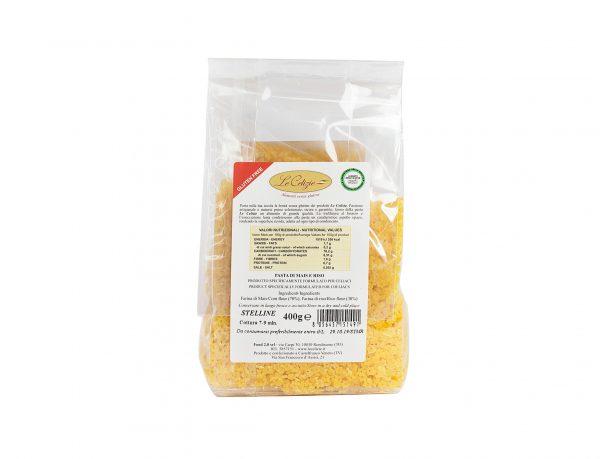 Stelline pasta di mais e riso gluten free