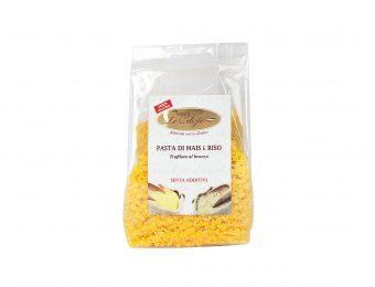 Stelline pasta di mais e riso senza lattosio