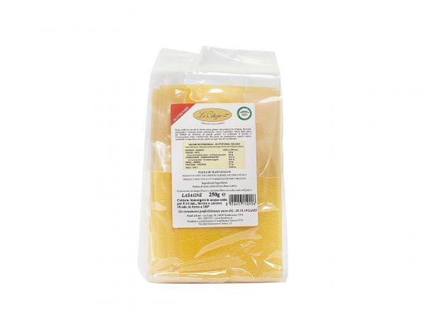 Lasagna pasta di mais giallo senza lattosio