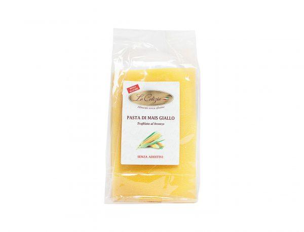 Lasagna pasta di mais giallo senza glutine