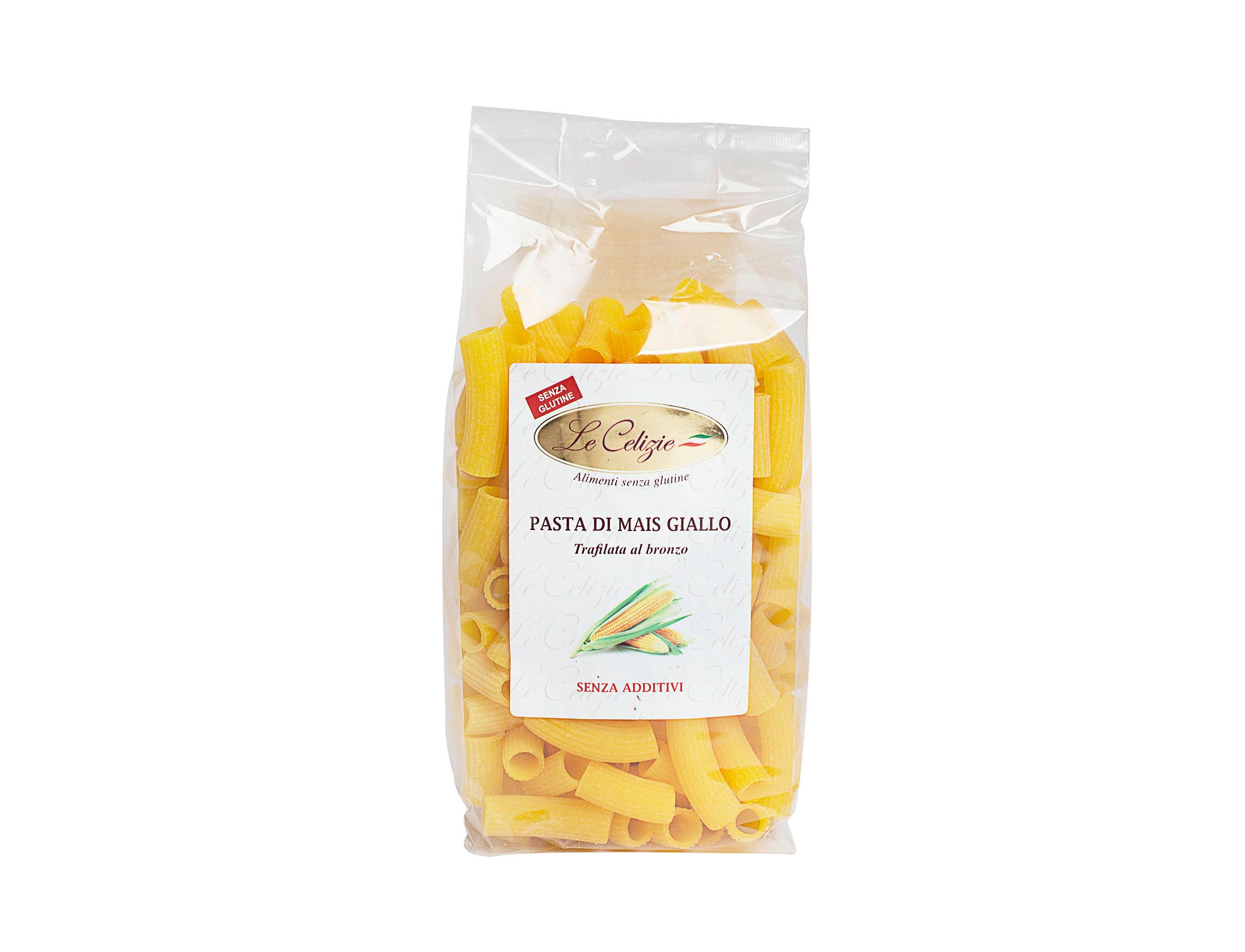 Maccheroni Pasta Di Mais Giallo senza glutine