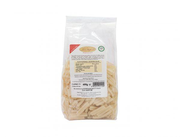 caprici pasta di riso senza lattosio