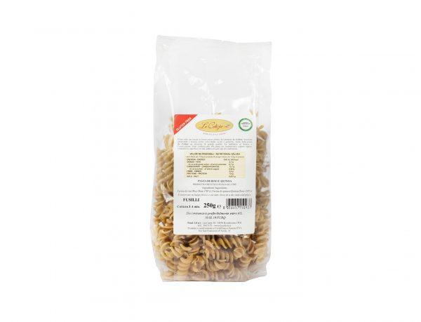 Pasta di Riso e Quinoa Fusilli gluten free