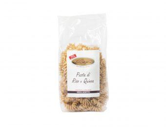 Pasta di Riso e Quinoa Fusilli senza glutine