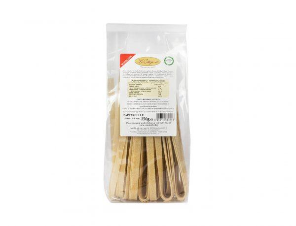 Pasta di Riso e Quinoa Pappardelle senza lattosio