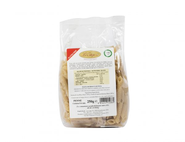 Pasta di Riso e Quinoa Penne gluten free