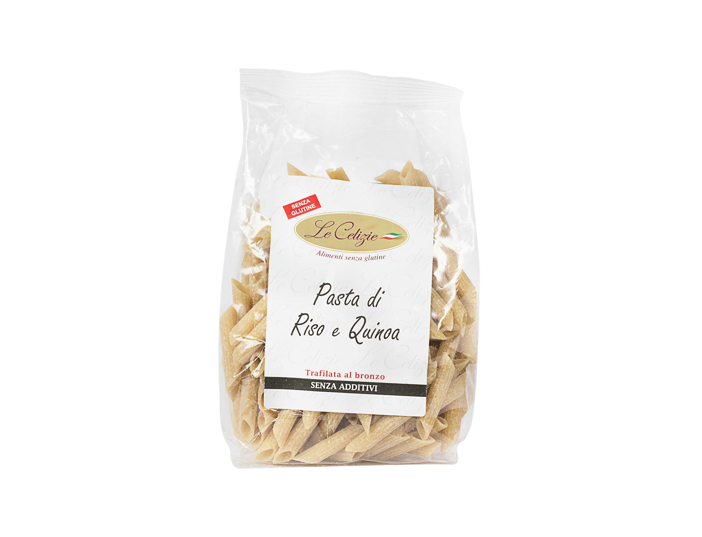 Pasta di Riso e Quinoa Penne senza glutine