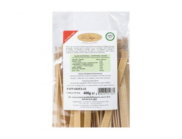 Pasta Di Riso Integrale Pappardelle senza glutine