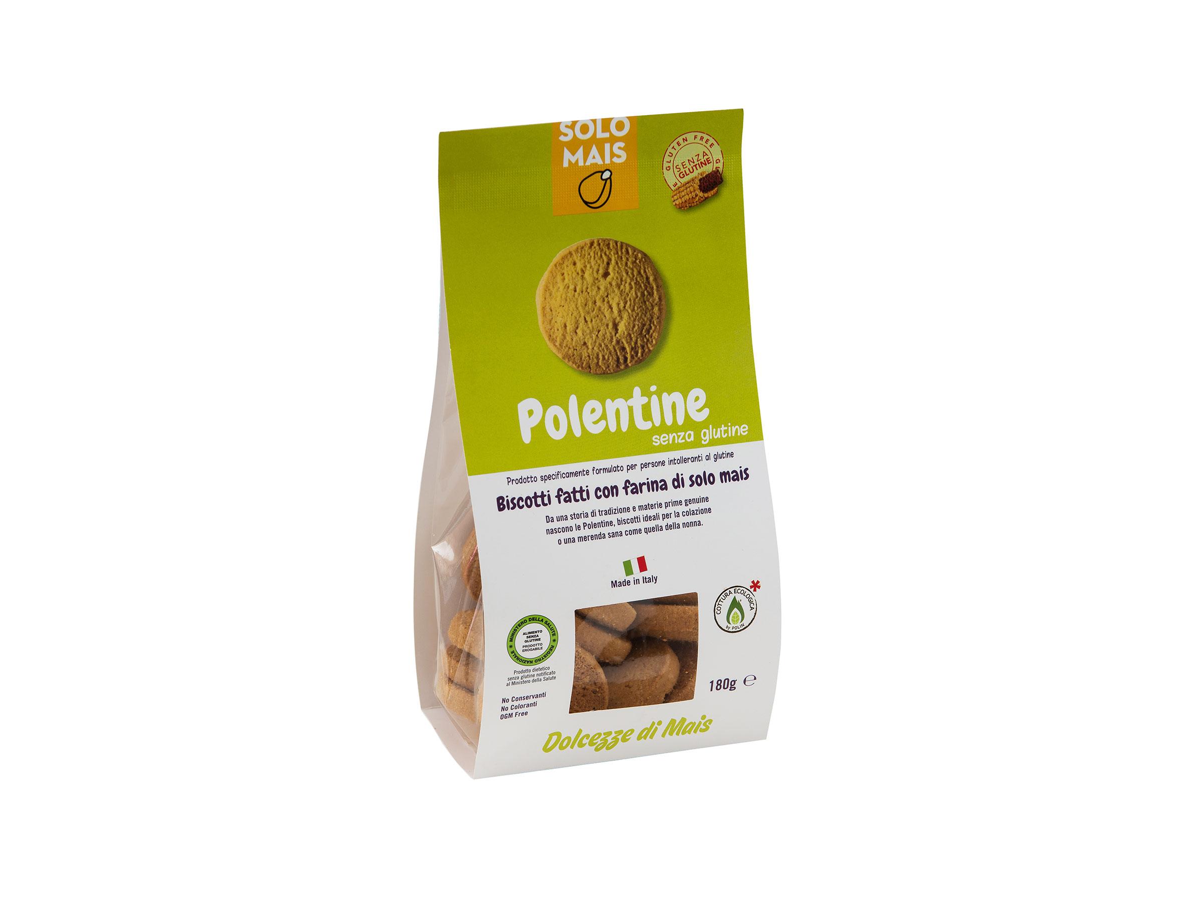 Polentine biscotti gluten free farina di mais