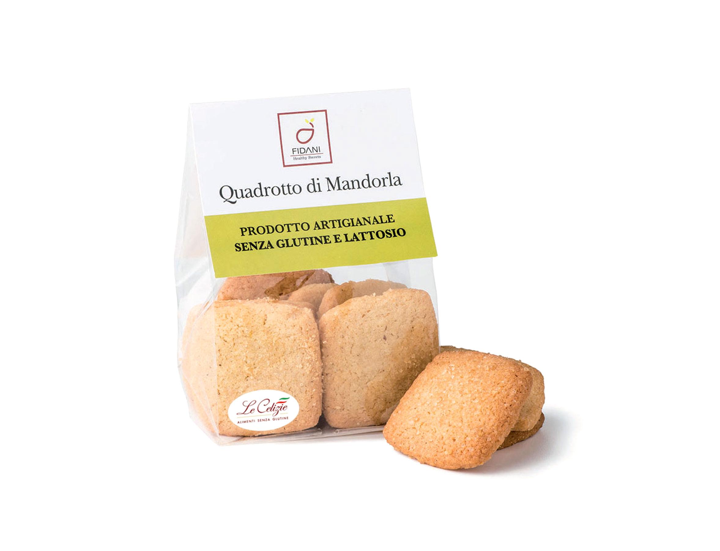 Quadrotto di Mandorla senza glutine