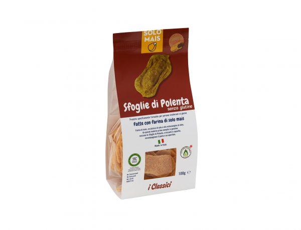 Sfoglie di polenta gluten free