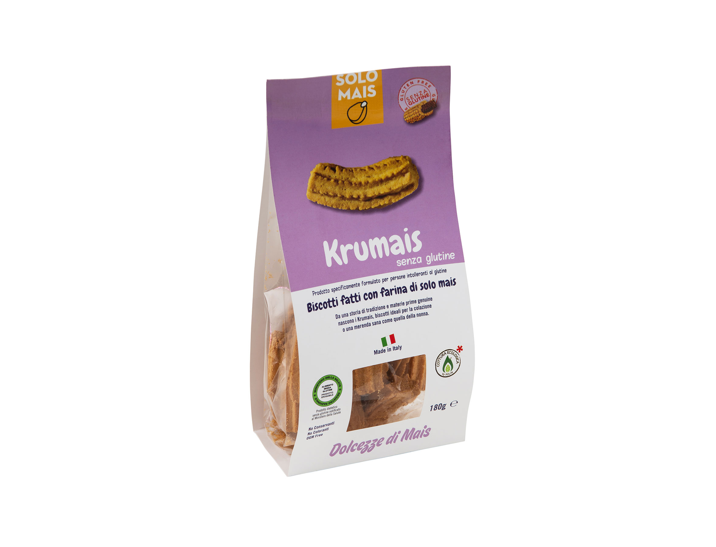 krumais biscotti farina di mais