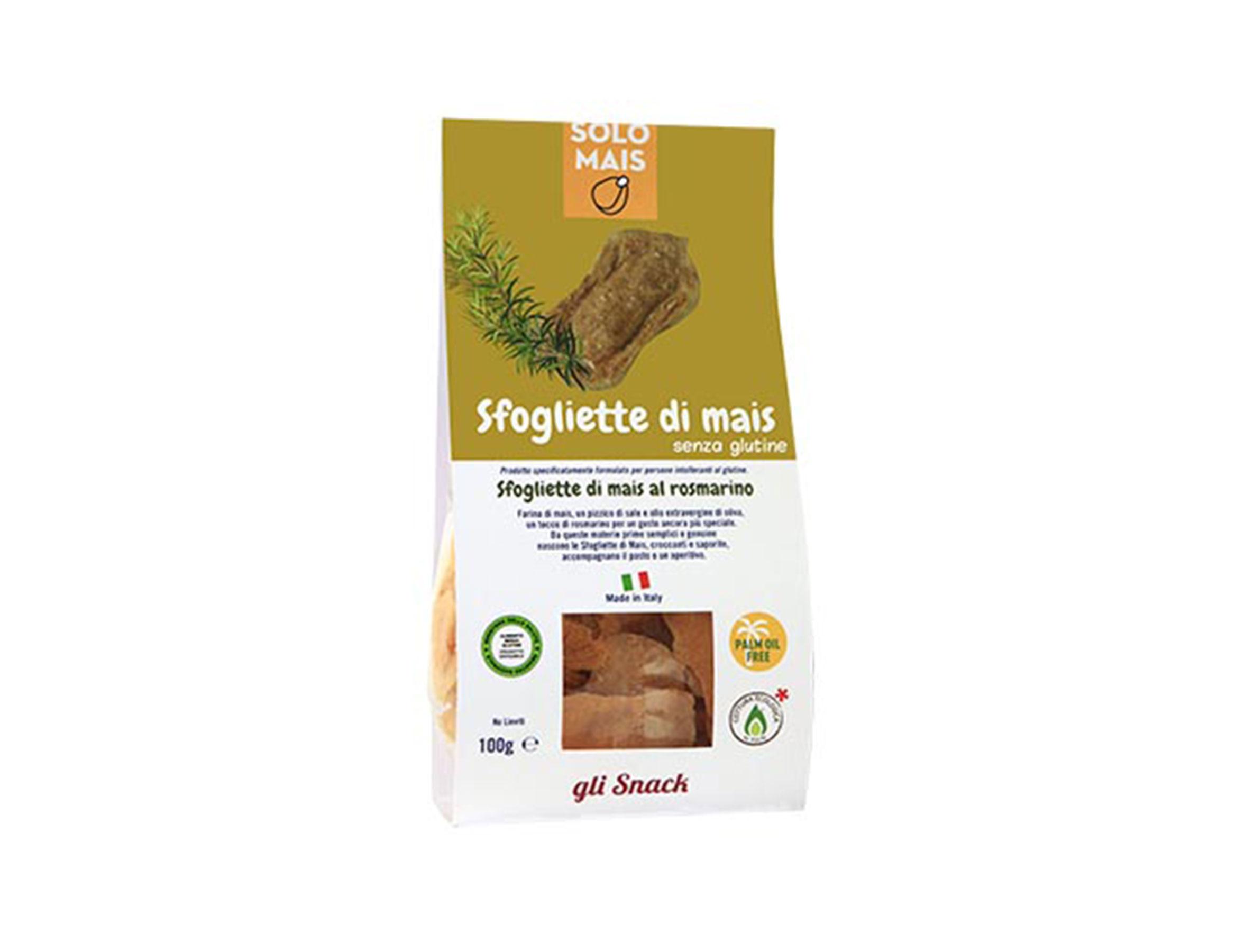 Sfogliette Di Mais Rosmarino gluten free