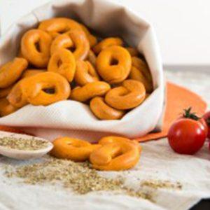 Taralli alla pizzaiola senza glutine