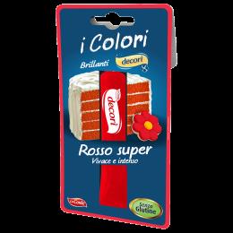 decorazione per dolci pasta rossa senza glutine