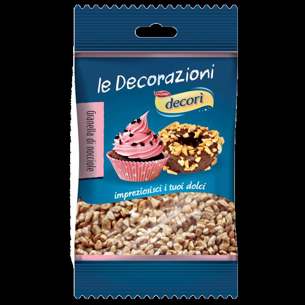 decorazioni bio per dolci granella nocciole