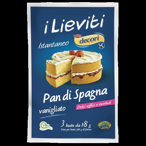 lievito pan di spagna vaniglia senza glutine