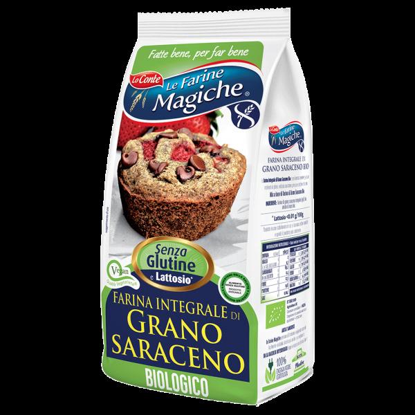 Farina integrale di grano saraceno bio