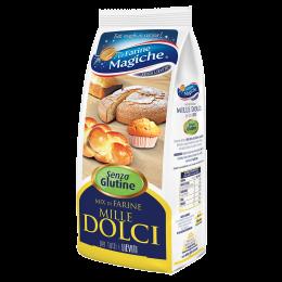 Mix farine per dolci senza lattosio