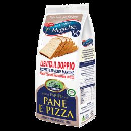farina pane pizza senza lattosio