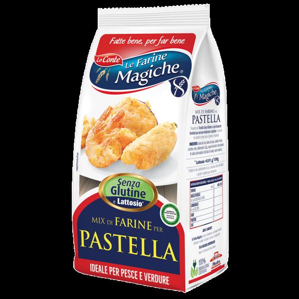 Pastella mix di farine senza glutine