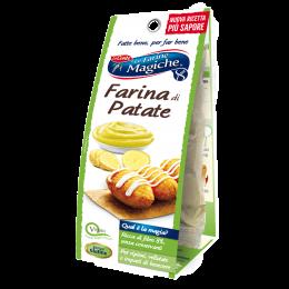 Farina di patate senza lattosio