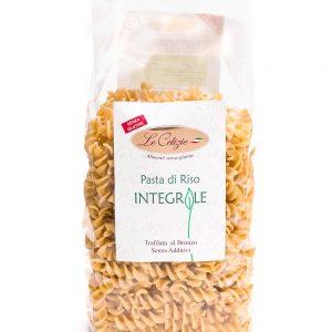 Fusilli di riso intergale senza glutine