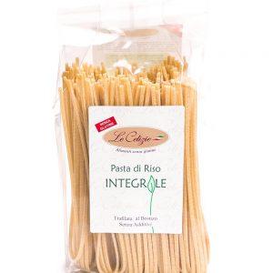 Pasta di riso integrale senza glutine