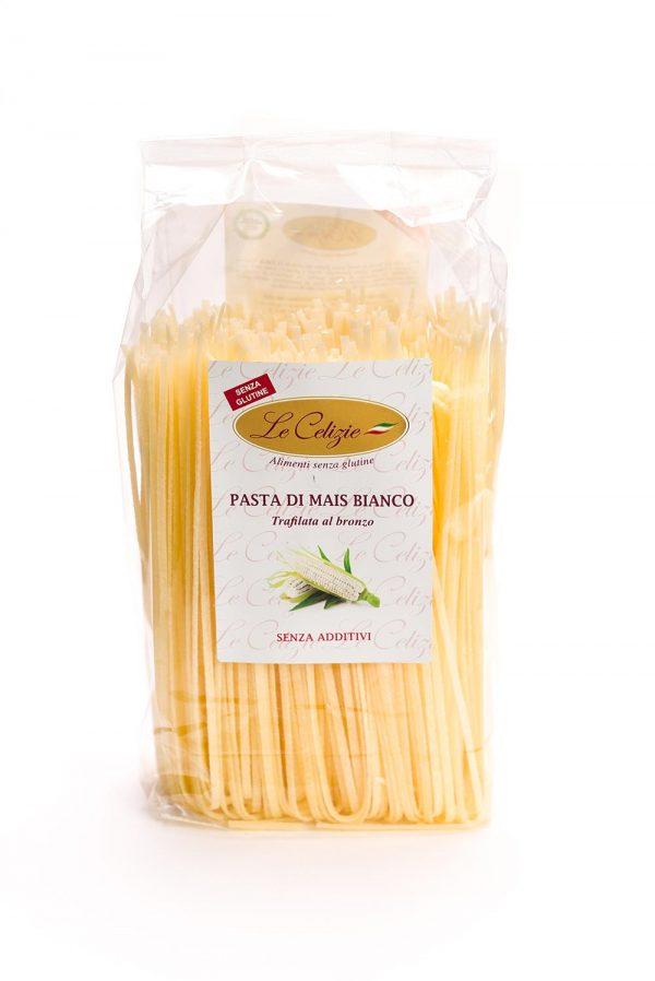 Pasta di mais bianco senza glutine