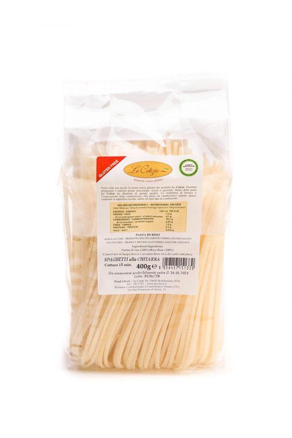 Spaghetti alla chittara gluten free