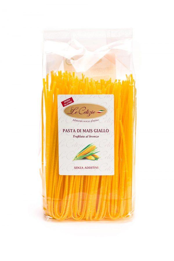 Pasta di mais giallo senza glutine