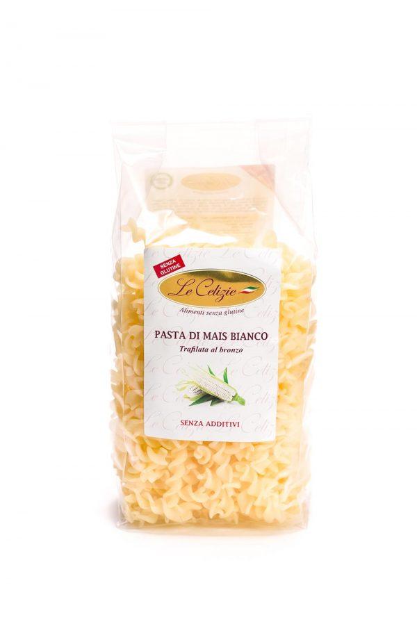 Fusilli di mais bianco senza glutine