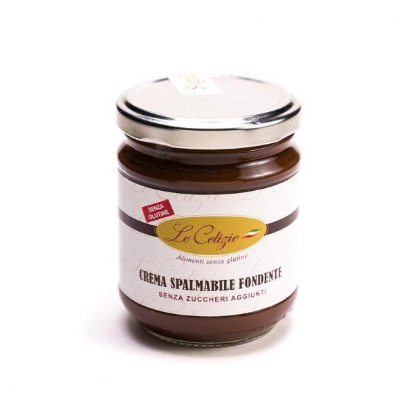 Crema spalmabile fondente senza glutine