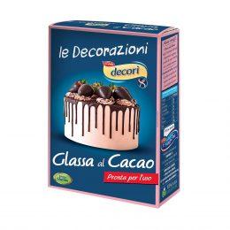 Glassa al cacao senza glutine