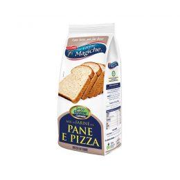 Mix farine per pane e pizza senza glutine