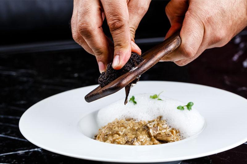 Piatti con tartufo per un menu raffinato e gustoso